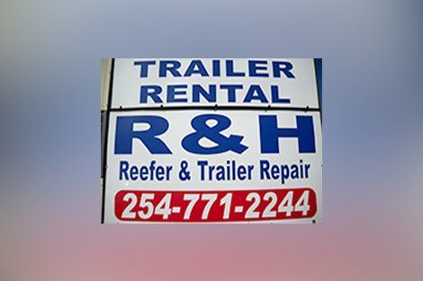 R & H Reefer & Trailer Repair signboard