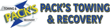Pack's Towing & Recovery | Logo