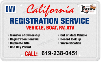 California Registration Service