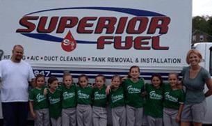 Superior Fuel staff