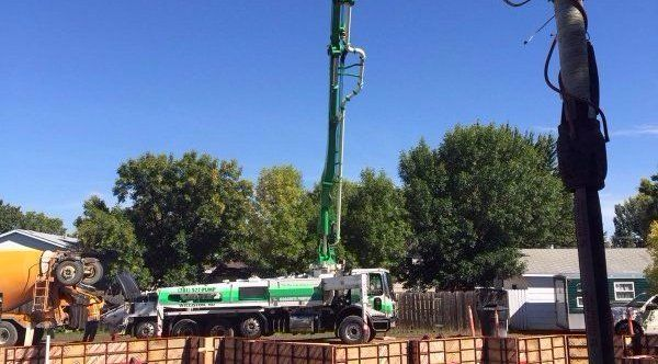 38Z-Meter, Truck-Mounted Concrete Boom Pump