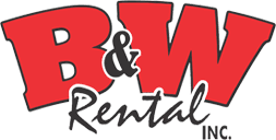 B & W Rental Inc-Logo