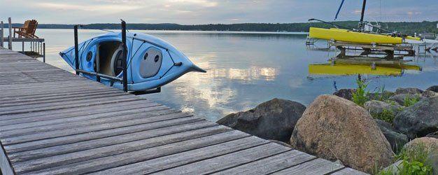 Dock and Kayak