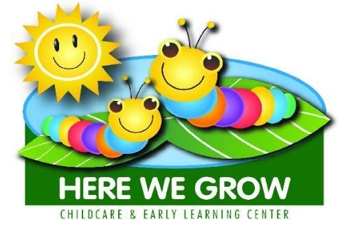 Here We Grow Childcare And Early Learning Center - Logo
