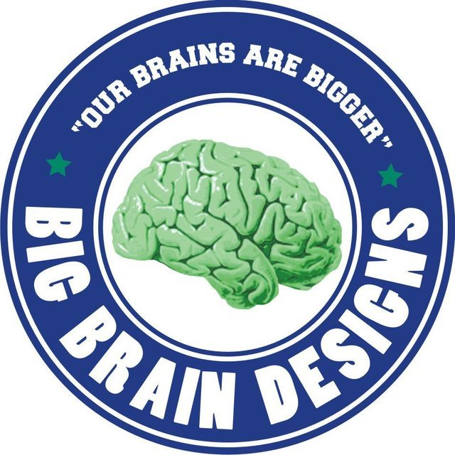 Big Brain Designs — logo