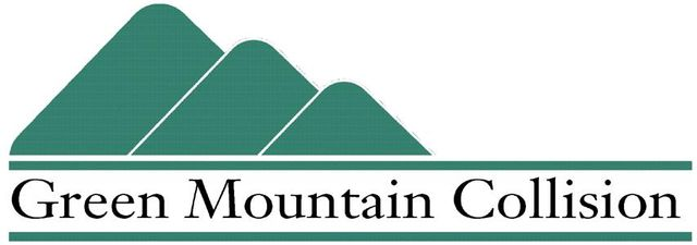 Green Mountain Collision Logo