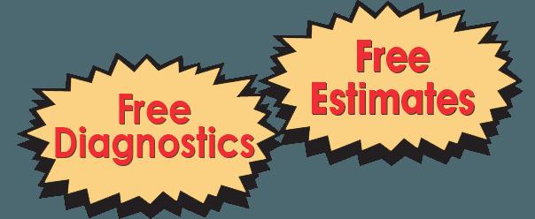 Free Estimates, Free Diagnostics