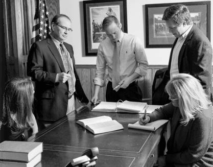 American Law Firm Staff