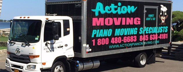 Action Piano Moving vehicle
