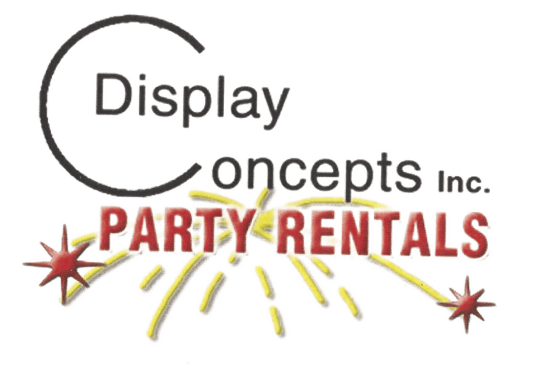 Display Concepts Party Rentals - Logo