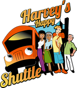 Harvey's Happy Shuttle - Logo