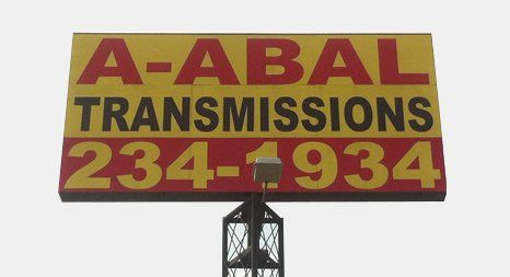A-Abal Transmission & Differential Repairs sign board