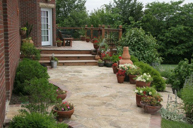 Patio and Walkway Design and Installation in Lawrence, KS