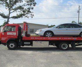 Auto body truck