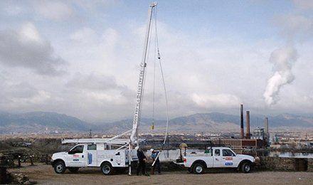 Boulder service trucks