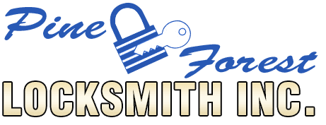 Pine Forest Locksmith Inc. Logo