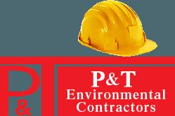 P & T Environmental Contractors logo