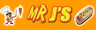 Mr J's Hotdogs & Gyros logo