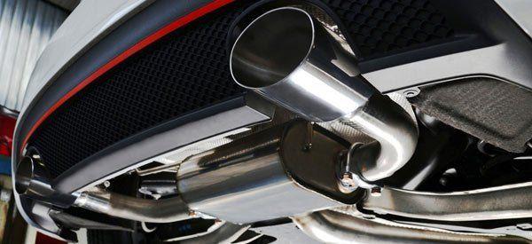 Exhaust and muffler