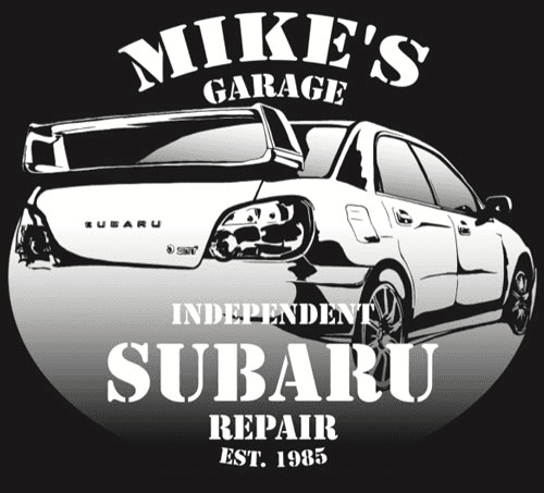 Mike's Garage - logo