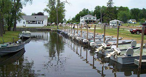 Jack's Landing   Camping   Resort   Fletcher Pond   Hillman, MI