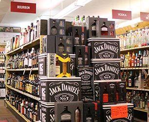 Variety of Liquor