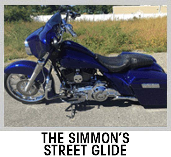 Simmon's Street Glide | Motorcycles | Motorbikes