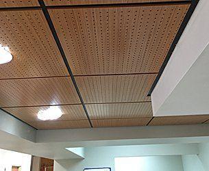 Wood ceilings and baffles