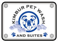 Kimbur Pet Wash & Suites - Logo