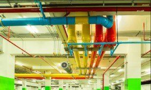 Building piping