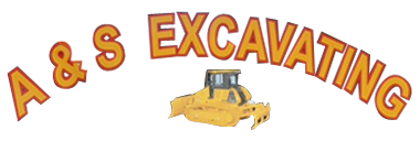 A & S Excavating - Logo