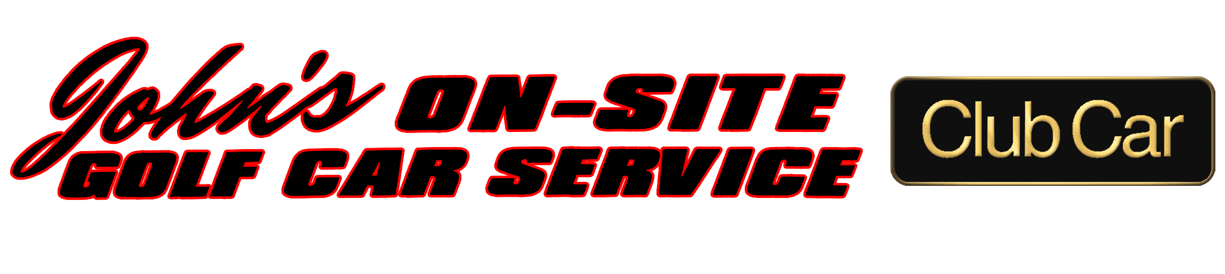 John's On-Site Golf Cart Service - Logo