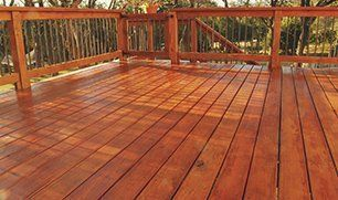 Deck Staining and Refinishing Services