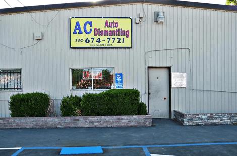 AC Auto Dismantling shop