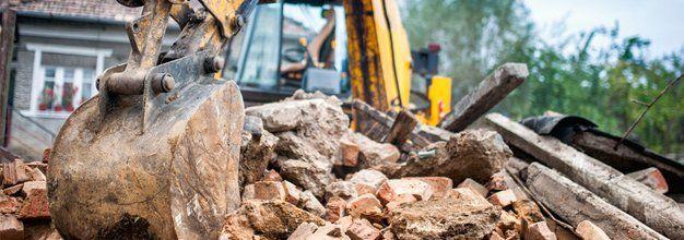 brick demolition