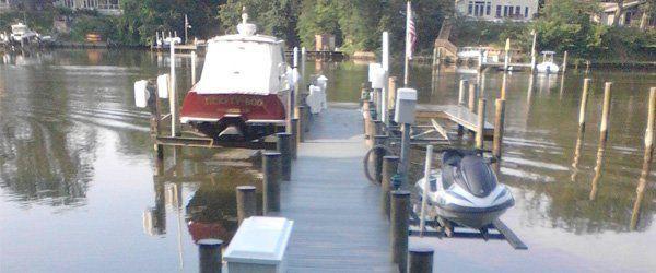 Composite piers and redecks