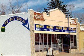 Money Market Pawn shop front