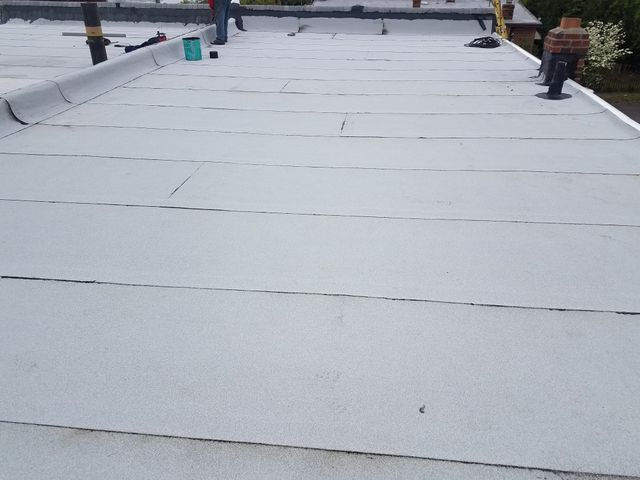 1st Choice Roofing Inc _ Roofing _ flat roof _ after