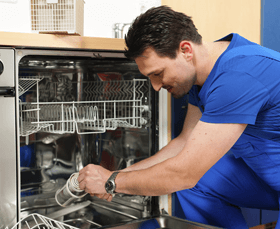 Dish washer repair
