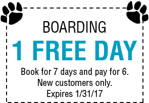 Boarding 1 Free Day Coupon