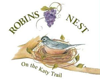 Robins Nest on the Katy Trail - Logo