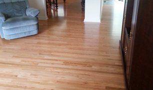 Residential hardwood floor