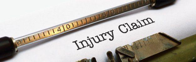 Injury claim paper