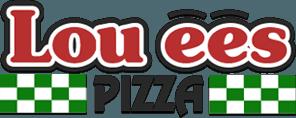 Lou'ees Pizza logo