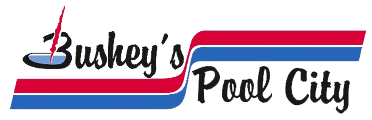 Bushey's Pool City - Logo