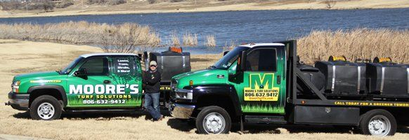 Weed control vehicles