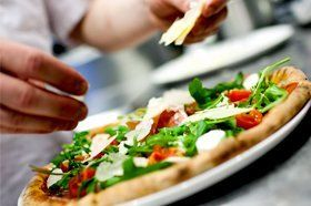 Handcrafted pizzas