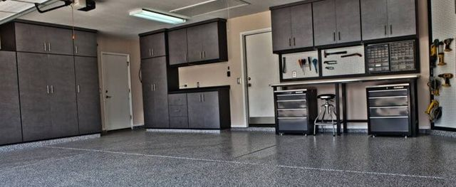 Different Types Of Garage Cabinets