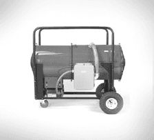 SDRA Portable, High-Temperature Blower Heater, and Indirect-Fired
