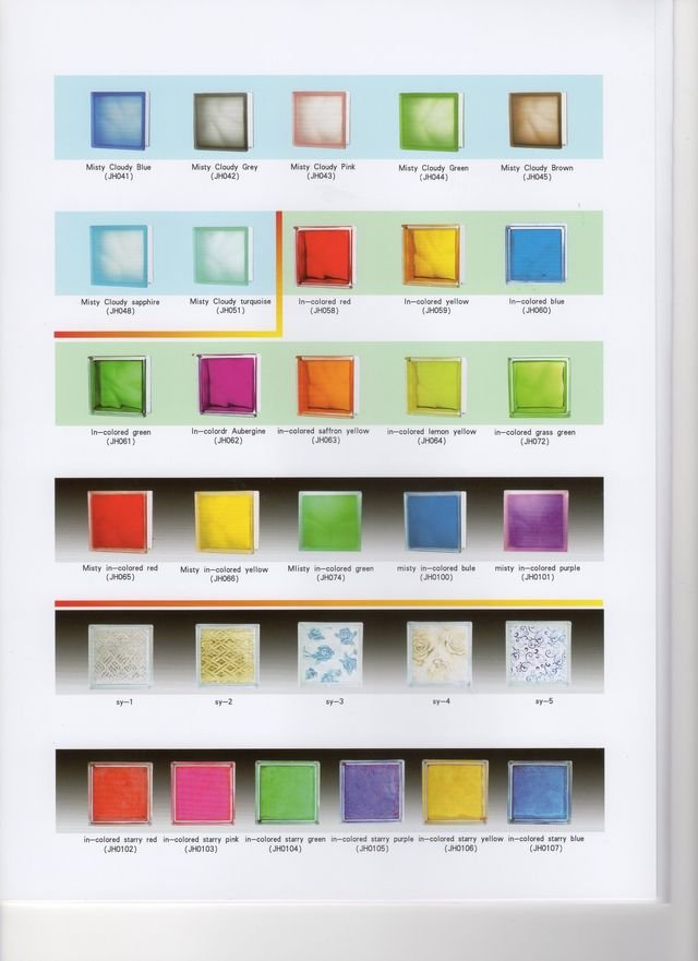 products Glass